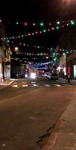 Light the way Bisbee Arizona Transportation Car Built Structure