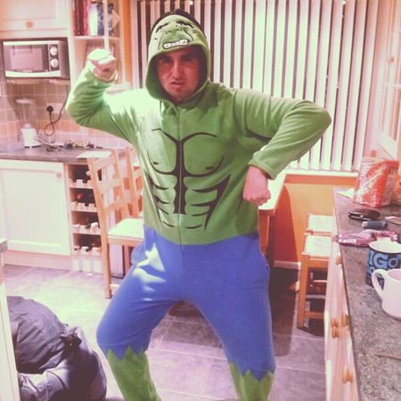 My little Hulk Boyfriend Onesie IncredibleHulk Strong funnylovehim