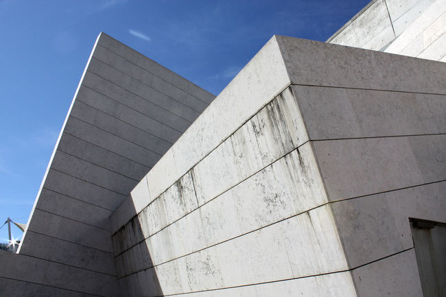 Architecture Contemporary Geometric Lisbon Modern Shapes Volumes Walls