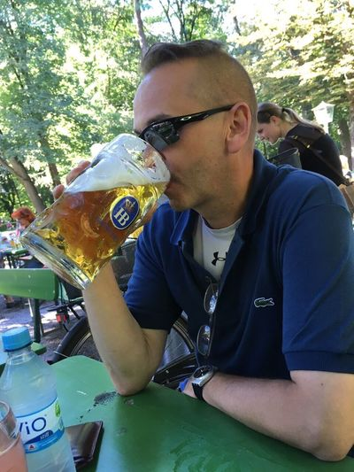 Munich 2016, am Chinesischen Turm👍😎🍺 Relaxation Outdoors Beer Beer Time Biergarten Fresh On Eyeem  Munich Beergarden  Biergartenzeit