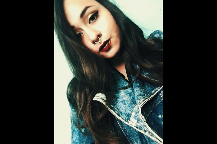 MexicanGirl Septum Peircing Septum ♡ Girlspower Photo First Eyeem Photo Girls