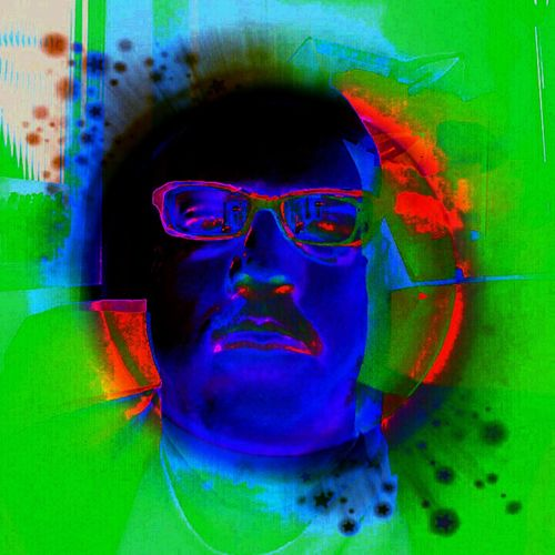 Portrait gone wrong Abstract Close-up Color Manipulation Creativity Multi Colored Person Phycodelic Wild