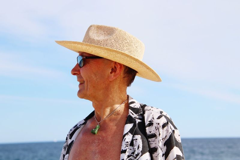 Mexico Vacation Destination EyeEm Selects Water Sea Hat Sky Horizon Over Water Sun Hat Lifestyles