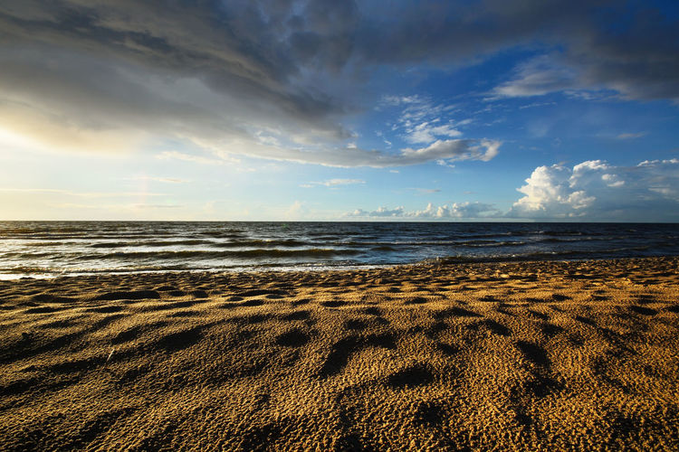 Baltics Cloudy