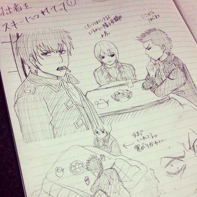Anime Comic Gintama Illust 漫画 銀魂 絵