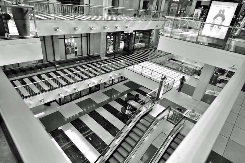 The Westfield San Francisco Centre 7 The Architect - 2016 EyeEm Awards Upscale Urban Shopping Mall 1991 Bnw_friday_eyeemchallenge Black & White Black And White Urban Photography Mall Interior Black And White Collection  Pattern Pieces Geometric Patterns Floors Escalators Black And White Photography Architecture Architecture Details Architecture_collection Monochrome Anchor Tenets : Nordstrom & Bloomingdale Owned: The Westfield Group Forest City Enterprises 180+ Stores 500,000 Square Ft. San Francisco State University Satellite Campus Owned By The Westfield Group Forest City Enterprises Fabulous Floors 500,000 Square Ft. 180+ Stores Architecture Photography