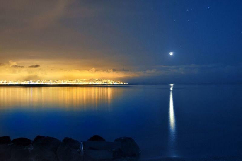 Moon Light Algeria Algiers