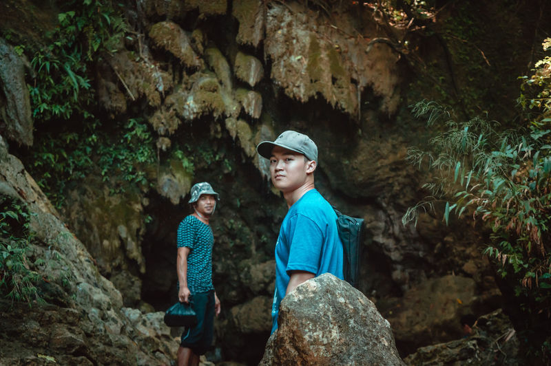 The Week On EyeEm Travel Adventure Boys Casual Clothing Cave Day First Eyeem Photo Forest Happiness Leisure Activity Mix Yourself A Good Time Nature Outdoors People Real People Rock - Object Smiling Summer Togetherness Two People