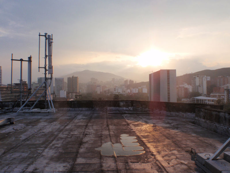 Sunset from rooftop after a rainy day. Rain Rainy Days Rooftop Sky And Clouds Architecture Building Exterior Built Structure City City Landscape City Sunset Cityscape Day No People Outdoors Rainy Day Sky Sunset first eyeem photo