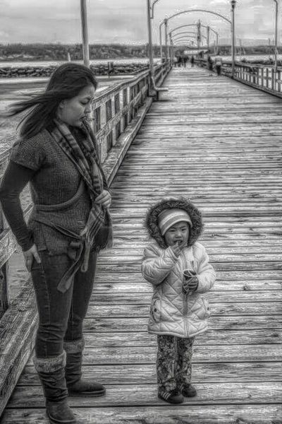 Girls Two People Love Togetherness Walking Child Happiness Family Childhood Bridge - Man Made Structure Real People Portrait Adult Standing Closeup Photography Black And White Cute Beauty In Nature EyeEm Selects Bnw_captures Bnw Blackandwhite Simple Moment Simple Things In Life Lovely EyeEmNewHere EyeEmNewHere