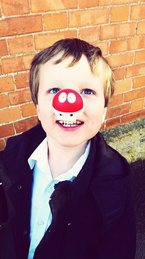 Red Nose Day Enjoying Life Red Nose Day Comic Relief Smile :) First Eyeem Photo