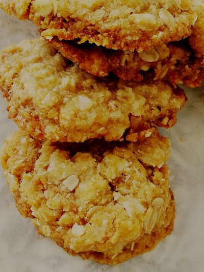 Anzac Day Biscuits Close-up Food And Drink No People Food Indoors  Day Freshness