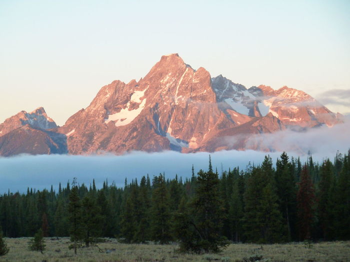 The Tetons in