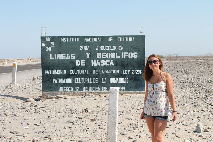 Nasca Lines sign in Peru Sign Travel day Fashion history lone traveller nasca lines Nature one person outdoors person Sign Travel Day Fashion History Lone Traveller Nasca Lines Nature One Person Outdoors Sand Sunglasses