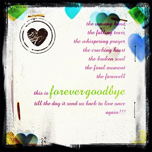 Farewell my friend..wish Ur soul will find a peace way. Farewell Death Too Sad