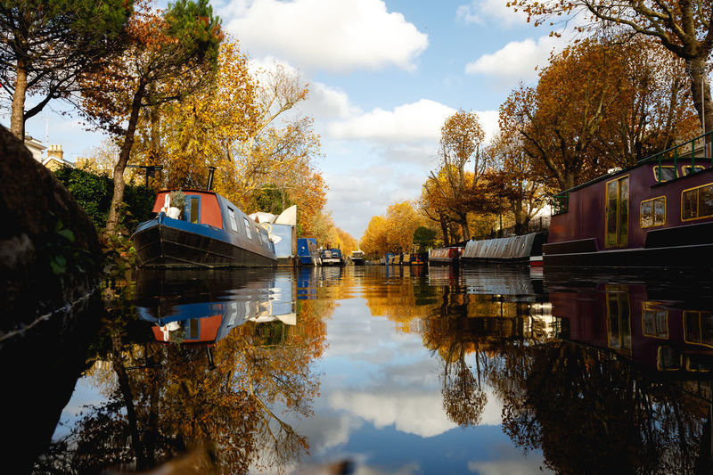 Autumn in London Reflection Water Tree Nature Sky Plant Cloud - Sky Autumn Lake Architecture Built Structure Waterfront Building Exterior Change Day Beauty In Nature No People Tranquility Outdoors London Travel Travel Destinations Autumn Autumn colors London lifestyle Capture Tomorrow