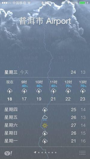这个天气阿
