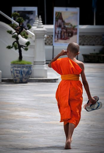 Little Monk Monk  Bangkok ASIA Travel Travelling ✈ Streetphotography