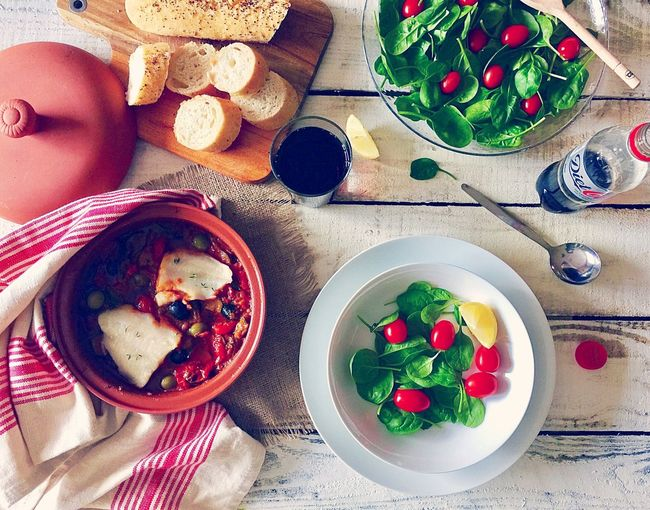 Tomato Food Healthy Eating Vegetable Salad Food And Drink Table Plate Bowl Vegetarian Food Freshness No People Coco Cola Fish Meal