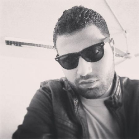 Miró  2014 Egypt Must college rayban sunglasses black_and_white leather myth lecture me Media eyes look short_beard short_hair selfie