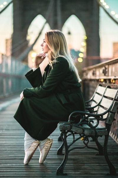 Ballett Ballerina Brooklyn Bridge / New York Fashion&love&beauty Photooftheday Fine Art Photography NYC New York City Newyork Popular Photos Photography Picoftheday Photo Broklyn Bridge People Photography NYC Photography EyeEm Best Shots