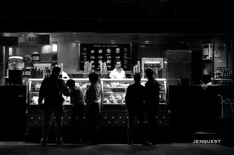 Barcelona Streetphoto_bw