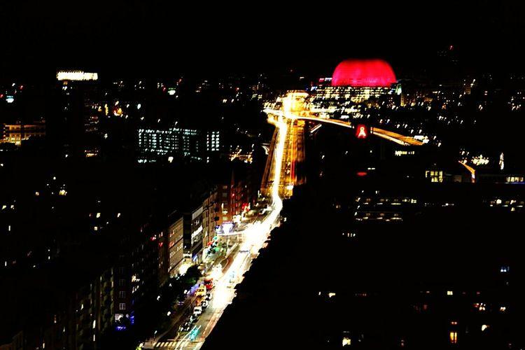 Relaxing Stockholm Nightphotography Night View Night Lights