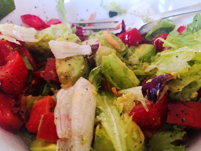 Foto Celular Fruit Close-up Food And Drink Leaf Vegetable Vegetarian Food Salad Vegan Lettuce