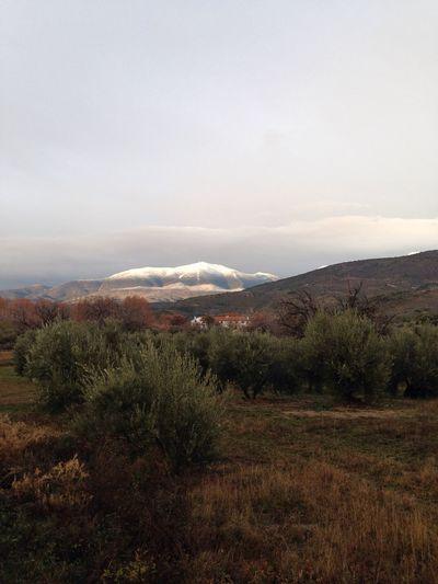 Pico Almaden visto desde Arbuniel