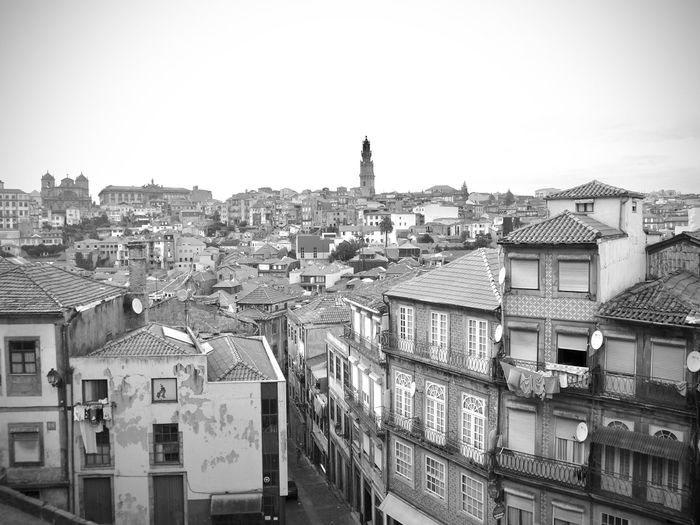 BeW City Cityscape Oporto, Portugal Apartment Architecture Black And White Building Building Exterior Built Structure City Cityscape Clear Sky Community Crowd Crowded Day High Angle View House Monochrome Nature Outdoors Residential District Roof Row House Settlement Sky Town TOWNSCAPE