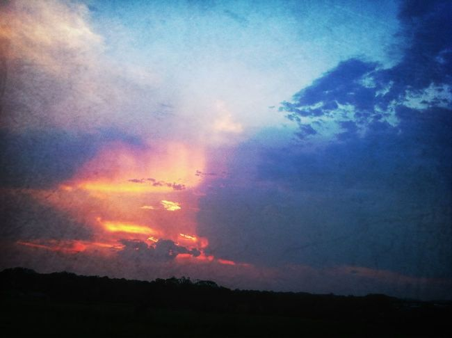 Sunset And Clouds