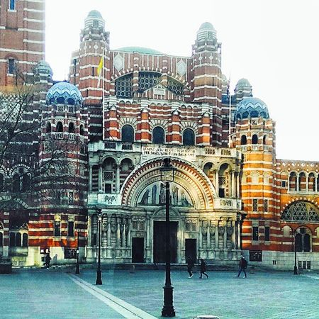 The snow melted.. Westminstercathedral Westminster Victoria London