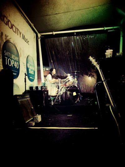 Drumming Jammin' Rock Musician