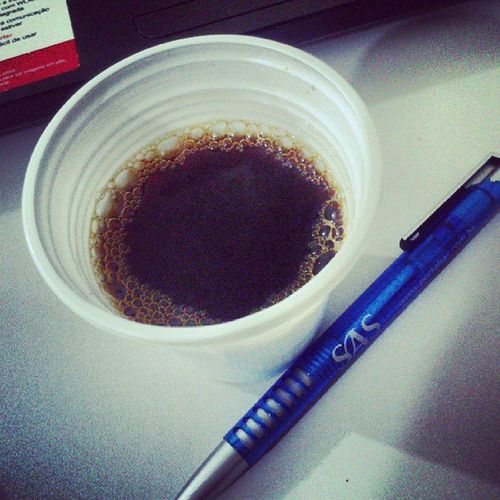 Companheiro de trabalho. Coffee Job
