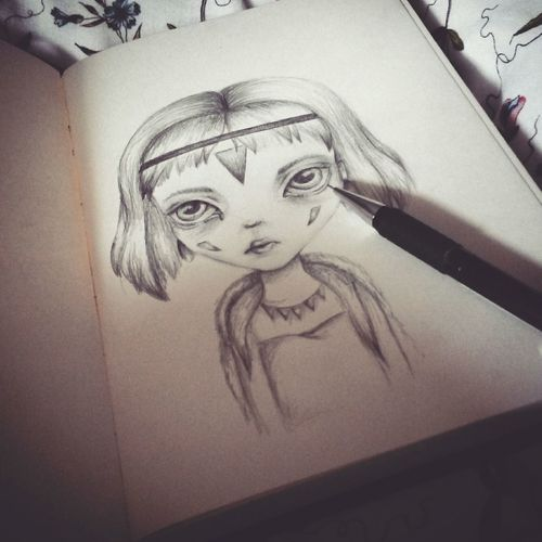 Drawing Girl