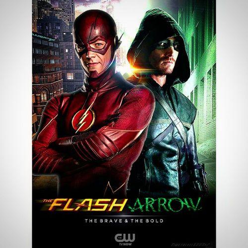 Theflash ⚡ & Arrow 🎿 Best  Tvshows Ever CW DC Dccomics Flash OliverQueen @amelladventures Stephenamell @grantgust Berryallen Grantgustin @cwtheflash @cw_arrow