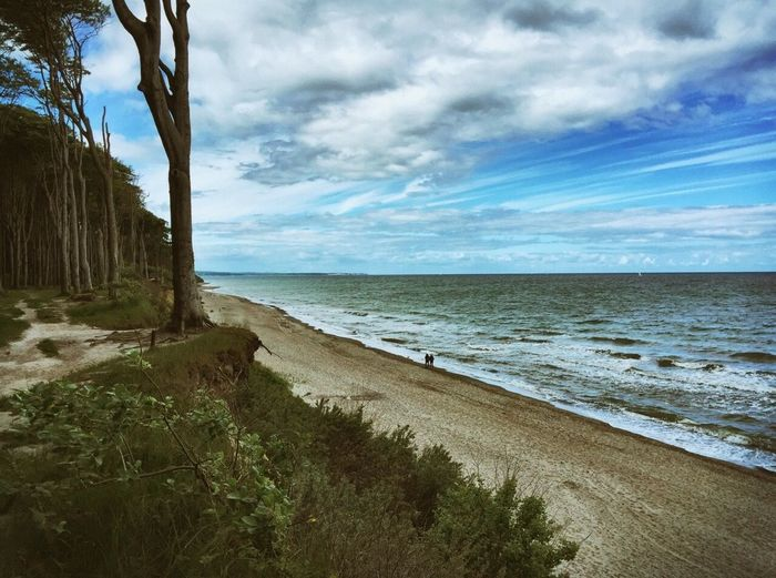 Baltic Sea🌊 Beach Nature Beautiful Nature Nature_collection Quality Time Sea Seaside Sea And Sky Sea_collection Baltic Sea Clouds Clouds And Sky Sky And Clouds Gespensterwald Forest Couple EyeEm Best Shots EyeEm Nature Lover EyeEmBestPics Landscapes With WhiteWall Feel The Journey People And Places
