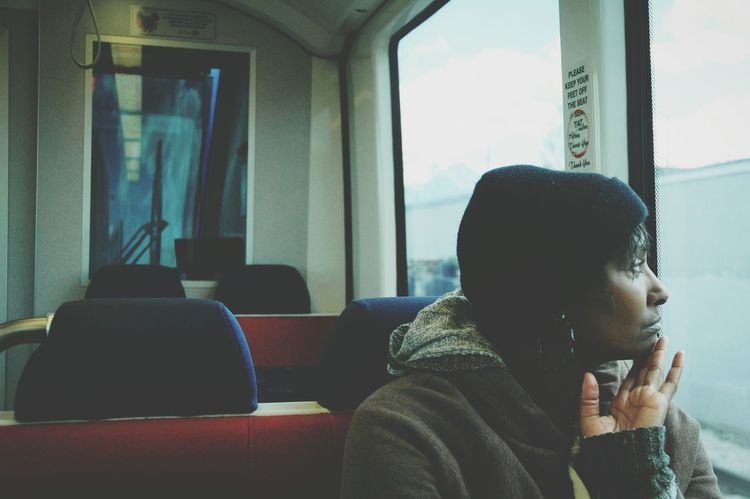 Salt Lake City Utah Portrait Of A Woman Train Watching Public Transportation I Love My Mom I Love My Mother Mother Sight Seeing View From The Top View From The Train The Portraitist - 2016 EyeEm Awards
