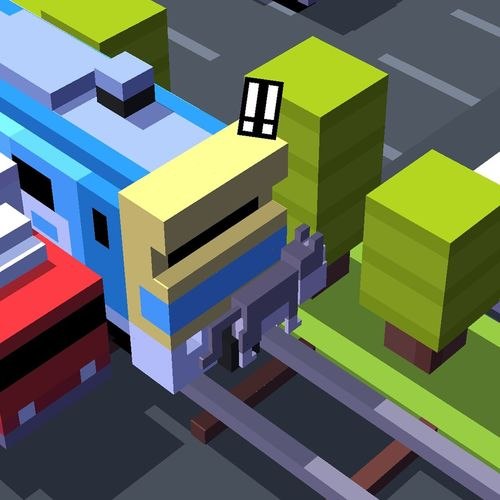 I dont think that he lucky cat... He dont have lucky! Crossy Road Phone Games.