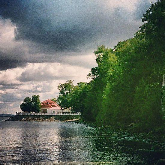 берег Финский Залив Петергоф камниоблакаплёнкаcanonshorefilmPeterhofGulf of FinlandRussia