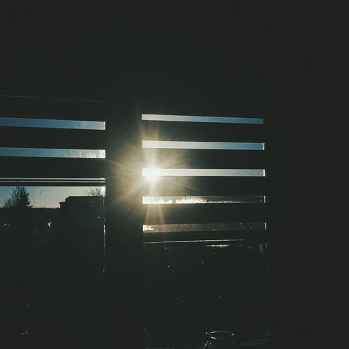 Morning Sun Winter Outside