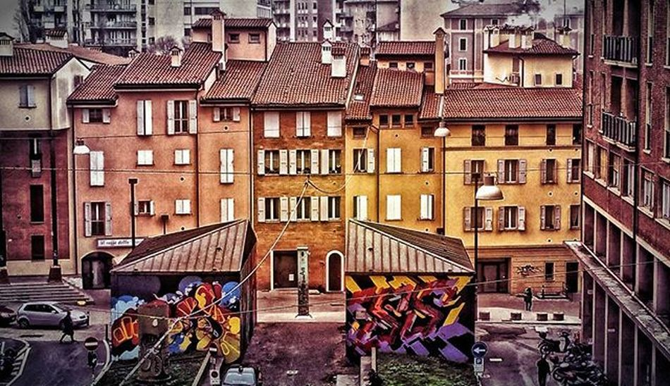 Bologna Igersbologna Ig_bologna Amazing Relax Beautiful Vivobologna Architecture Instagood Travel Traveling Vacation Visiting Instatravel Instago Instagood Photooftheday Travelling Tourism Instapassport Instatraveling Mytravelgram Travelgram Travelingram Igtravel hdr house colours mybologna perlestradedibologna loves_bologna
