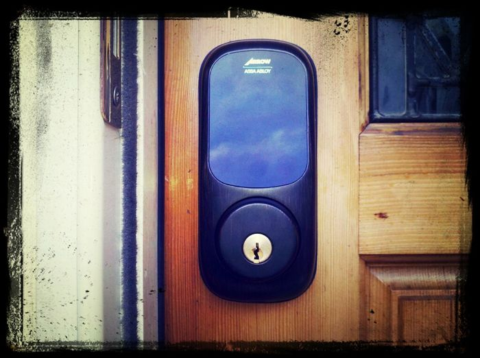 New Arrow Revolution deadbolt added to a client's house by http://sherwoodlocksmithing.com