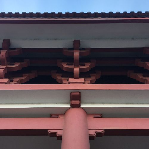 Yunnan ,China Yunnan Ancient Architecture Architecture Built Structure China Beauty Building Exterior Chinese Temple Travel Ancient Culture Outdoors Low Angle View Relaxing Light And Shadow Showcase: February Close-up Chong Sheng Temple 崇圣寺