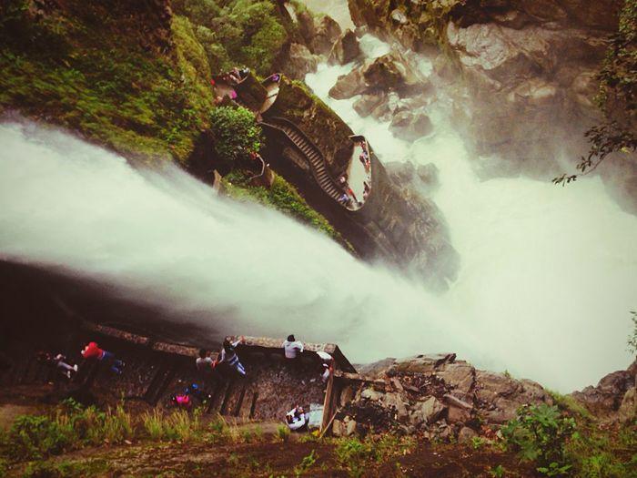 El Pailon del Diablo Ecuador Baños de Agua Santa First Eyeem Photo