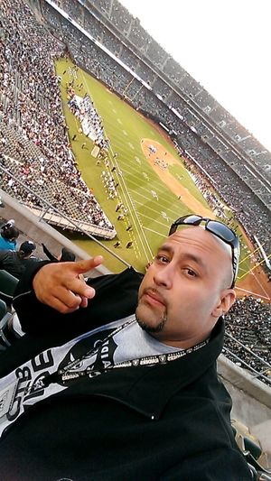 That's Me :) Enjoying Life Taking Pictures Raiders Game. Raider Nation