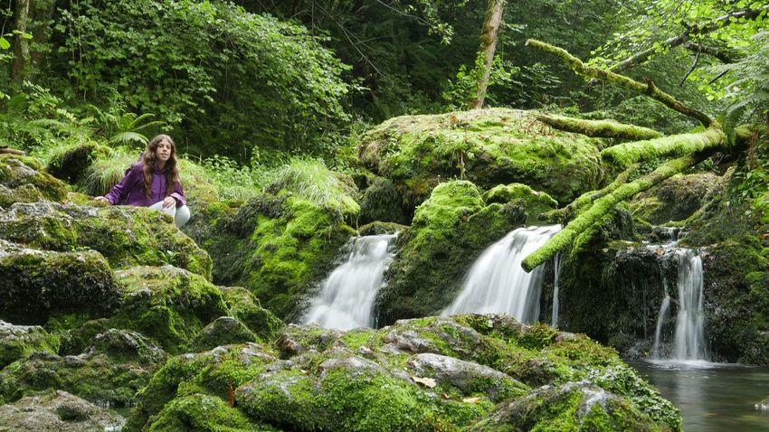 Musk Asturias Waterfall Water_collection Green Panasonic Lx100 Waterfall_collection Girl Jungle Long Exposure Capture Tomorrow