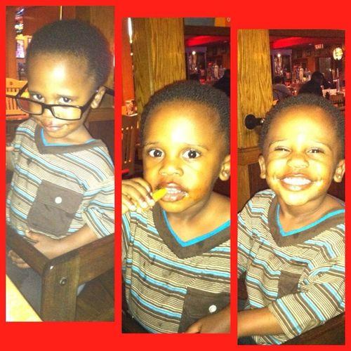 My silly nephew