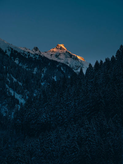 Mountain Sky Scenics - Nature Winter Beauty In Nature Cold Temperature Tree Tranquility Snow Tranquil Scene Nature Mountain Range Non-urban Scene Snowcapped Mountain Environment Mountain Peak Formation No People Land Clear Sky Outdoors Austria