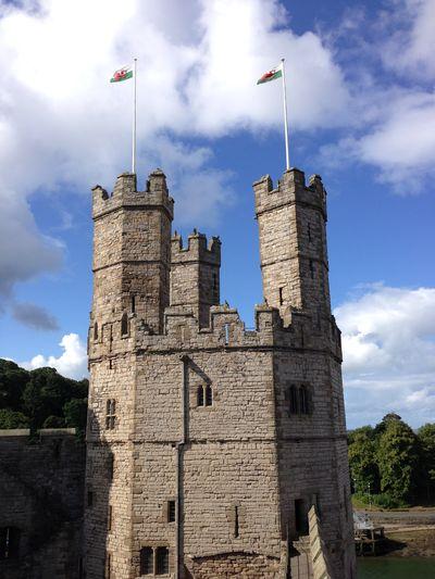 Caernarfon Taking Photos Architecture Sightseeing Castle